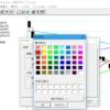 チャートギャラリーで移動平均線の色を変更する方法
